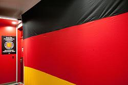 German team dressing room at IIHF 2011 World Championship Slovakia, on May 5, 2011 in Orange Arena, Bratislava, Slovakia.  (Photo By Vid Ponikvar / Sportida.com)
