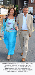 MR & MRS DAVID DEIN he is vice chairman of Arsenal FC, at a party in London on 6th July 2004.PWW 110