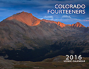 2016 Colorado Fourteeners Calendar