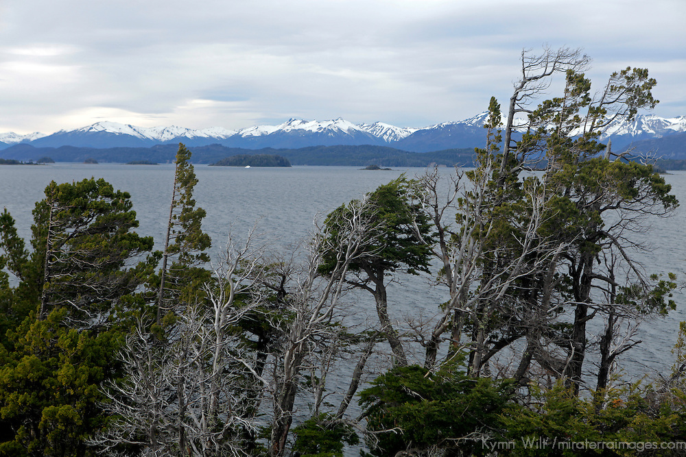 South America, Argentina, Bariloche. Nahuel Huapi National Park scenery.