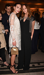 Left to right, Maxim Manus and Stella McCartney at Fashioned From Nature held at The V&A Museum, London, England. 18 April 2018.