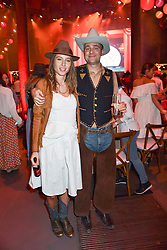 Ben Goldsmith and Jemima Goldsmith at the Save The Children's Night of Country at The Roundhouse, London England. 2 March 2017.
