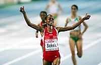 Friidrett, 1. august  2010 ,<br /> EM Barcelona<br /> <br /> European Athletics Championships<br /> Barcelona<br /> <br /> Alemitu Bekele , TUR ,winner 5000 m<br /> <br /> Foto: Anders Hoven , Digitalsport