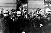 Jewish Rabbiscaptured taken during the destruction of the Warsaw Ghetto, Poland, 1943.