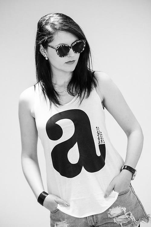 PR specialist Antoaneta Quick poses for a model shot.