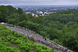 July 13, 2017 - Pau, France - Peyragudes, France - July 13 : Illustration peloton during stage 12 of the 104th edition of the 2017 Tour de France cycling race, a stage of 214.5 kms between Pau and Peyragudes on July 13, 2017 in Peyragudes, France, 13/07/2017 (Credit Image: © Panoramic via ZUMA Press)