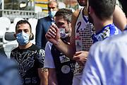 Gianmarco Pozzecco<br /> Banco di Sardegna Dinamo Sassari - Segafredo Virtus Bologna<br /> Eurosport Supercoppa 2020 - Final Four - Semifinale<br /> LBA Legabasket 2020/2021<br /> Bologna, 18/09/2020<br /> Foto L.Canu / Ciamillo-Castoria