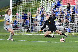 04 November 2016:  Cassicy Lentz during an NCAA Missouri Valley Conference (MVC) Championship series women's semi-final soccer game between the Loyola Ramblers and the Evansville Purple Aces on Adelaide Street Field in Normal IL