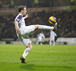Bolton, England - Wednesday, January 31, 2007: Bolton Wanderers' Kevin Nolan in action against Charlton Athletic during the Premiership match at the Reebok Stadium. (Pic by David Rawcliffe/Propaganda)