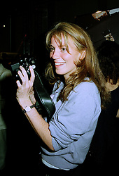 MISS DAISY DONOVAN daughter of the late photographer Terence Donovan, at a party in London on 15th July 1997.MAG 31