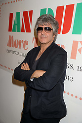 CLEM BURKE drummer for the band Blondie at a private view of the late Ian Dury's artwork entitled Ian Dury: More Than Fair – Paintings, drawings and artworks, 1961–1972 held at the Royal College of Art, Kensington Gore, London SW7 on 22nd July 2013.