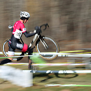 Jules Goguely in action during the Cyclo-Cross, Supercross Cup 2013 UCI Weekend at the Anthony Wayne Recreation Area, Stony Point, New York. USA. 24th November 2013. Photo Tim Clayton