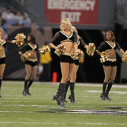 2008 December, 28: New Orleans Saints cheerleaders perform during a week 17 game between NFC South divisional rivals the Carolina Panthers and the New Orleans Saints at the Louisiana Superdome in New Orleans, LA.