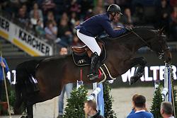 Angot Cedric, (FRA), Rubis de Preuilly<br /> Prize of Raumpflege Jumping<br /> Stuttgart - German Masters 2015<br /> © Hippo Foto - Stefan Lafrentz