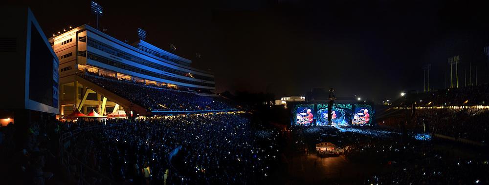 Carter-Finley Stadium hosts The Rolling Stones Zip Code Tour.