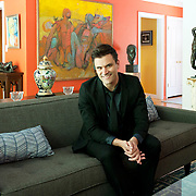 BEVERLY HILLS, CA - JULY 21:  Kash Hovey poses for a portrait at a private residence on July 21, 2017 in Beverly Hills, California.   (Photo by Amy Graves/Wireimage) *** Local Caption *** Kash Hovey