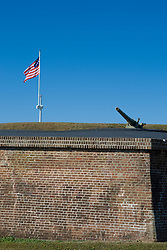 Fort Moultrie, Sullivan Island, South Carolina,  December 31, 2007.