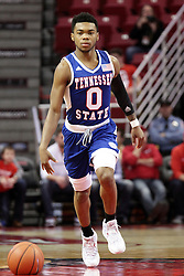 22 December 2015: Armani Chaney(0). Illinois State Redbirds host the Tennessee State Tigers at Redbird Arena in Normal Illinois (Photo by Alan Look)