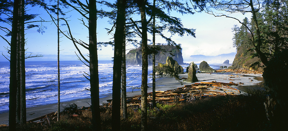 Ruby Beach, the most popular beach in the Olympic National Park.