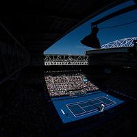A general view of Hisense Arena on day four of the 2017 Australian Open at Melbourne Park on January 19, 2017 in Melbourne, Australia.<br /> (Ben Solomon/Tennis Australia)