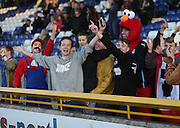 Dundee fans - Inverness Caledonian Thistle v Dundee at Caledonian Stadium, Inverness<br /> <br />  - © David Young - www.davidyoungphoto.co.uk - email: davidyoungphoto@gmail.com