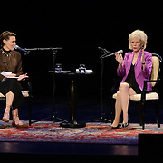 NHPR's Virginia Prescott interviews Lesley Stahl at The Music Hall, May 11, 2016
