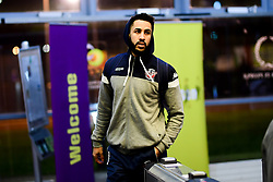 Chris Taylor of Bristol Flyers arrives at SGS Wise Arena prior to kick off - Photo mandatory by-line: Ryan Hiscott/JMP - 14/12/2019 - BASKETBALL - SGS Wise Arena - Bristol, England - Bristol Flyers v Worcester Wolves - British Basketball League Championship