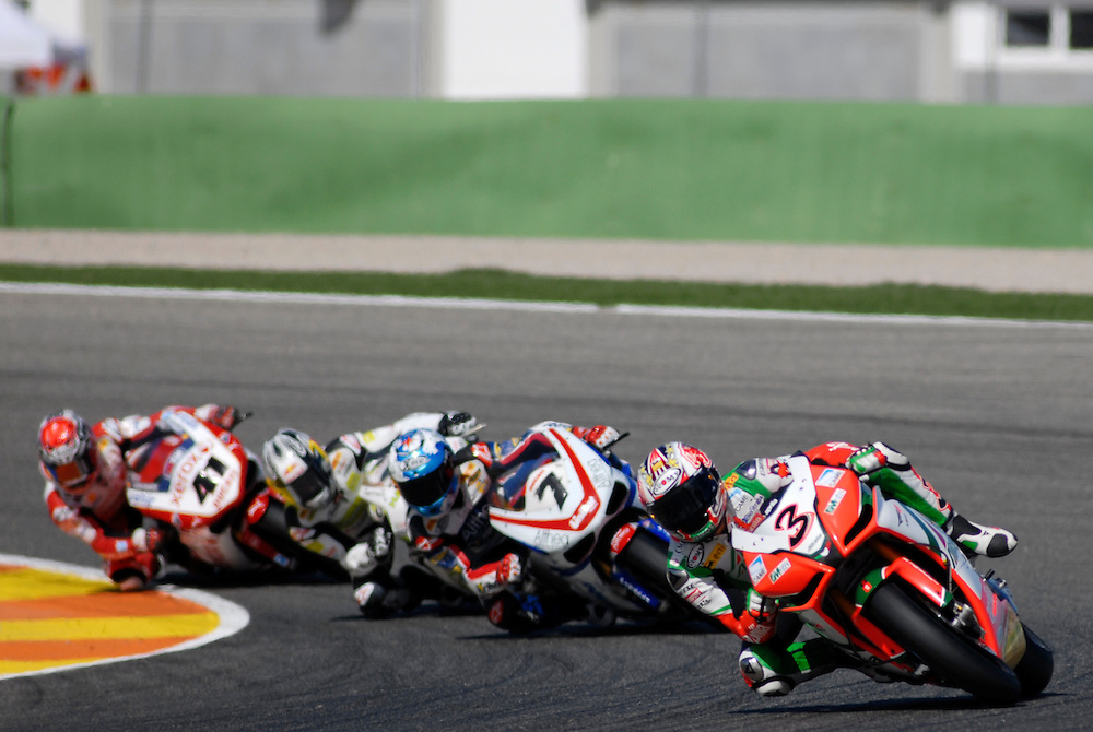 Superbikes World Championship in Cheste Circuit, near Valencia-SPAIN
