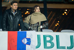 Borut Pahor, president of Slovenia prior to the football match between National teams of Slovenia and Slovakia in Round #2 of FIFA World Cup Russia 2018 qualifications in Group F, on October 8, 2016 in SRC Stozice, Ljubljana, Slovenia. Photo by Vid Ponikvar / Sportida