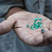 Emeralds from Muzo, Colombia