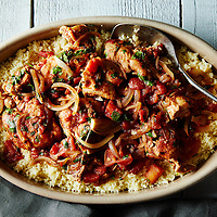 Tunisian Chicken with Harissa and Spices