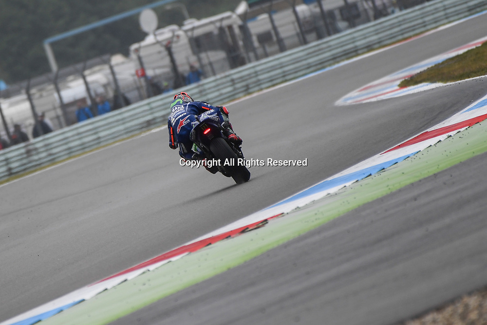 June 24th 2017, TT Circuit, Assen, Netherlands; MotoGP Grand Prix TT Assen, Qualifying Day; Maverick Vinales (Movistar Yamaha)during the qualifying sessions
