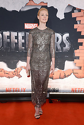 Actress Deborah Ann Woll attends the 'Marvel's The Defenders' New York Premiere at Tribeca Performing Arts Center in New York, NY, on on July 31, 2017. (Photo by Anthony Behar) *** Please Use Credit from Credit Field ***