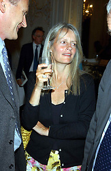 LADY JANE WELLESLEY daughter of the Duke of Wellington at a party to celebrate the publication of 'Princesses' the six daughters of George 111 by Flora Fraser held at the Saville Club, Brook Street, London W1 on 14th September 2004.<br /><br />NON EXCLUSIVE - WORLD RIGHTS