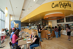 North America, United States, Washington, Bellevue, Pogacha restaurant (interior)