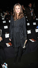 FEB 10 2013 Olivia Palermo at the Diane von Furstenberg show in New york