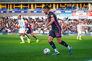 Leeds United midfielder Jack Harrison (22) during the EFL Sky Bet Championship match between Huddersfield Town and Leeds United at the John Smiths Stadium, Huddersfield, England on 7 December 2019.