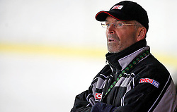 New head coach Mats Waltin at  hockey training of Slovenian national team, on December 12, 2007 in Bled - Ice Arena, Slovenia. (Photo by Vid Ponikvar / Sportal Images)