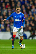 Borna Barisic (#31) of Rangers FC during the Group G Europa League match between Rangers FC and FC Porto at Ibrox Stadium, Glasgow, Scotland on 7 November 2019.