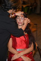 EXCLUSIVE: Farrah Abraham is seen at Fitting studio's in Cannes having hair and make-up and her Red dress fitted for tonights Fashion for relief charity gala hosted by Naomi Campbell. 13 May 2018 Pictured: Farrah Abraham. Photo credit: Neil Warner/MEGA TheMegaAgency.com +1 888 505 6342