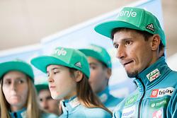 Robert Kranjec during press conference of Slovenian Nordic Ski team before new season 2017/18, on November 14, 2017 in Gorenje, Ljubljana - Crnuce, Slovenia. Photo by Vid Ponikvar / Sportida