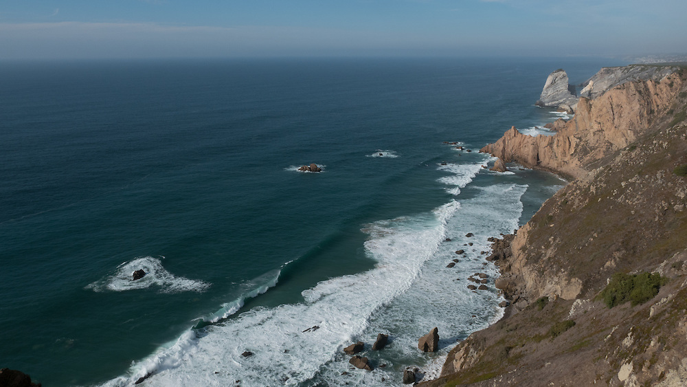 Cabo da Roca forms the westernmost extent of mainland Portugal and continental Europe.