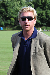 BORIS BECKER at the IWC Laureus Polo Cup Day 2008 held at Ham Polo Club, Surrey on 22nd June 2008.<br /><br />NON EXCLUSIVE - WORLD RIGHTS