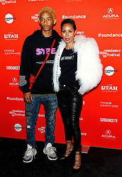 """Jada Pinkett Smith at the premiere of """"Skate Kitchen"""" during the 2018 Sundance Film Festival held at the Park City Library on January 21, 2018 in Park City, UT. 21 Jan 2018 Pictured: Jaden Smith and Jada Pinkett Smith. Photo credit: JPA / AFF-USA.COM / MEGA TheMegaAgency.com +1 888 505 6342"""