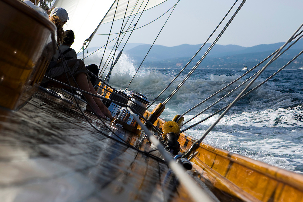 30SEP09 Les Voiles De St Tropez 2009..On board Cambria..