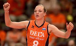 23-09-2014 ITA: World Championship Nederland - Kazachstan, Verona<br /> Nederland wint de opening wedstrijd met 3-0 / Judith Pietersen