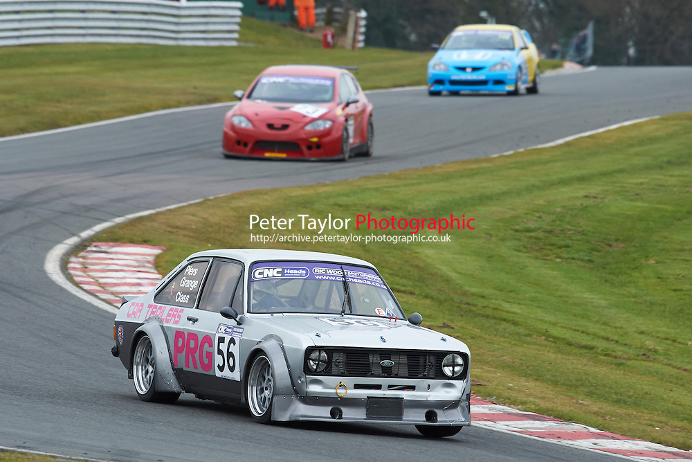 #56 Piers GRANGE Ford Escort Mk2 2300 during CNC Heads Sports / Saloon Championship as part of the BARC NW - Championship Raceday  at Oulton Park, Little Budworth, Cheshire, United Kingdom. March 19 2016. World Copyright Peter Taylor/PSP. Copy of publication required for printed pictures.  Every used picture is fee-liable. http://archive.petertaylor-photographic.co.uk