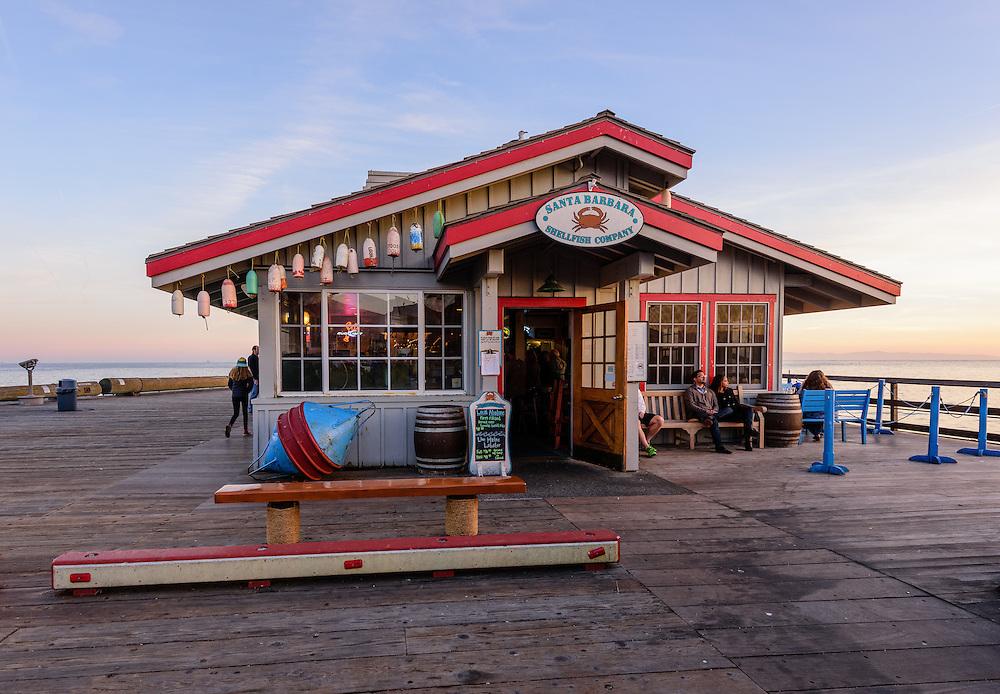 Santa Barbara Shellfish Company, Stearns Wharf, Santa Barbara, California