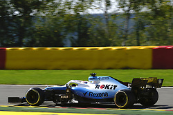 August 30, 2019, Spa Francorchamps, Belgium: Williams Driver ROBERT KUBICA (POL) in action during the second free practice session of the Formula one Belgian Grand Prix at the SPA Francorchamps circuit - Belgium (Credit Image: © Pierre Stevenin/ZUMA Wire)
