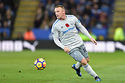 Everton striker Wayne Rooney (10) during the Premier League match between Leicester City and Everton at the King Power Stadium, Leicester, England on 29 October 2017. Photo by Jon Hobley.